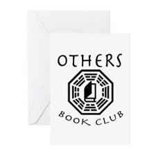 Cute Book club Greeting Cards (Pk of 10)