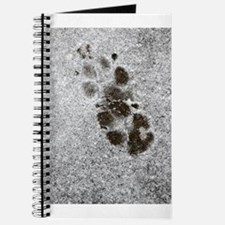 Pawprints in Snow Journal