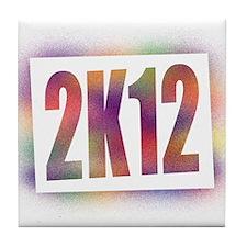 2K12 Tile Coaster