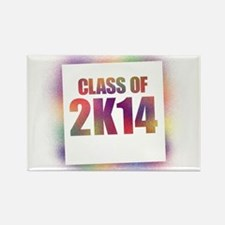 Class of 2K14 Rectangle Magnet (100 pack)