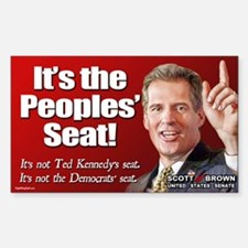People's Seat Rectangle Decal