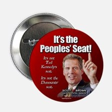 """People's Seat 2.25"""" Button (10 pack)"""
