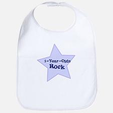 1-Year-Olds Rock Bib