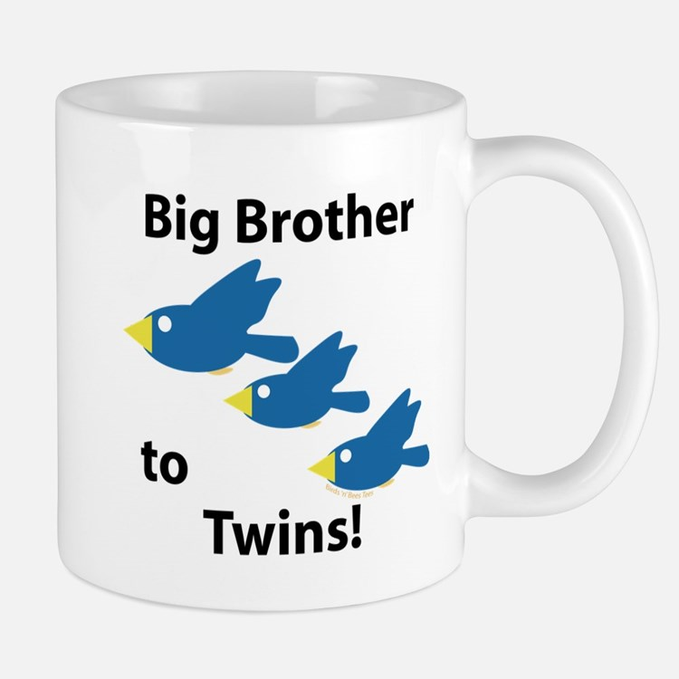 Big Brother to Twins Mug