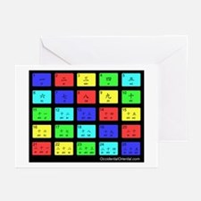 Learn Chinese Numbers Greeting Cards (Pk of 10
