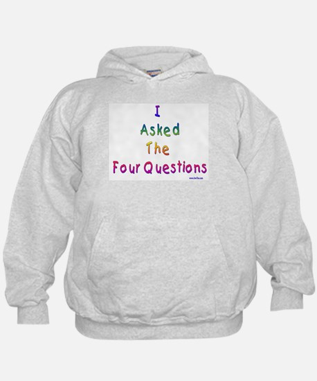 4 Questions Passover Hoodie