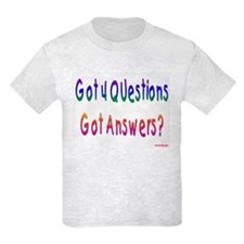 4 Questions Answers Passover T-Shirt