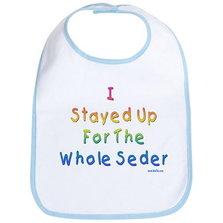 The Whole Seder Passover Bib