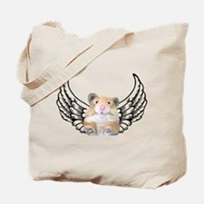 Hamster Angel Tote Bag