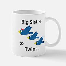 Big Sister to Twins Mug