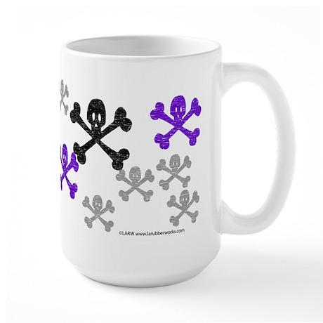 Skull'n'CrossbonesSwarm Large Mug