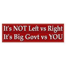 Big Government vs You
