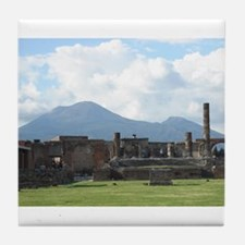 Cute Pompeii Tile Coaster