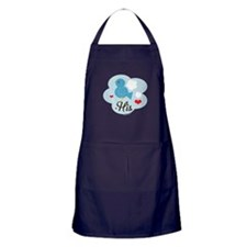 Matching His Love Bird Apron (dark)