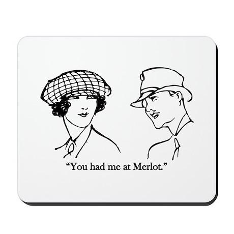 Merlot Mousepad