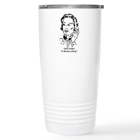 Vodka Mom Stainless Steel Travel Mug
