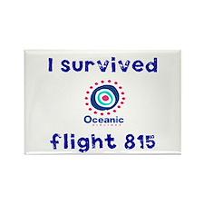 I survived Oceanic flight 815 Rectangle Magnet