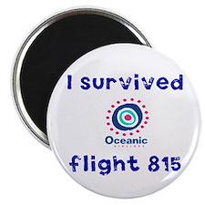 I survived Oceanic flight 815 Magnet