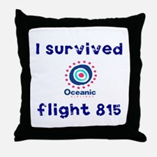 I survived Oceanic flight 815 Throw Pillow