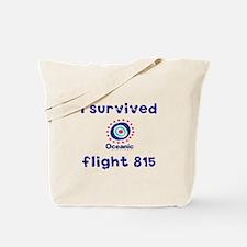 I survived Oceanic flight 815 Tote Bag