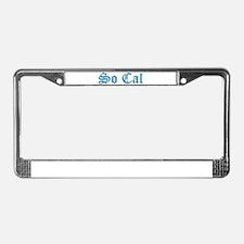 Long beach california License Plate Frame