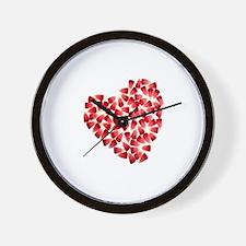 Unique Twilight valentine%27s day Wall Clock