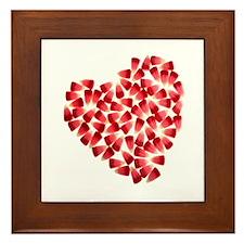 Cute Twilight valentines Framed Tile