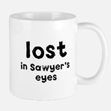 LOST in Sawyer's eyes Small Small Mug