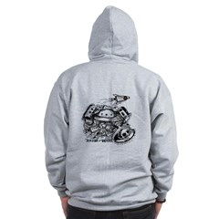 Serving the Universe - Zip Hoodie