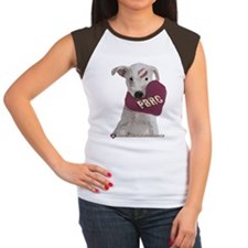 Heart of Hearts Women's Cap Sleeve T-Shirt