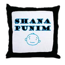 Shana Punim Throw Pillow