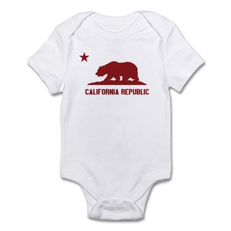 California Republic Infant Bodysuit
