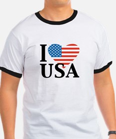 I heart USA, I love America T