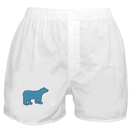 Blue Bear Boxer Shorts