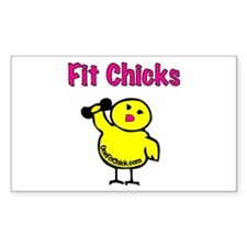 Fit Chicks Decal