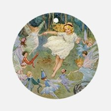 dancing in the fairy Ornament (Round)