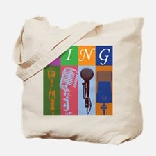Microphones with 8 Colors and Tote Bag