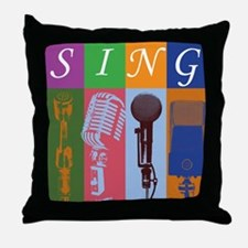 Microphones with 8 Colors and Throw Pillow