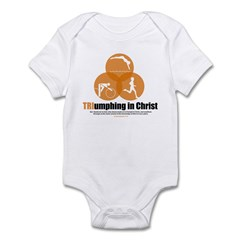 TRIumphing in Christ 2 Infant Bodysuit