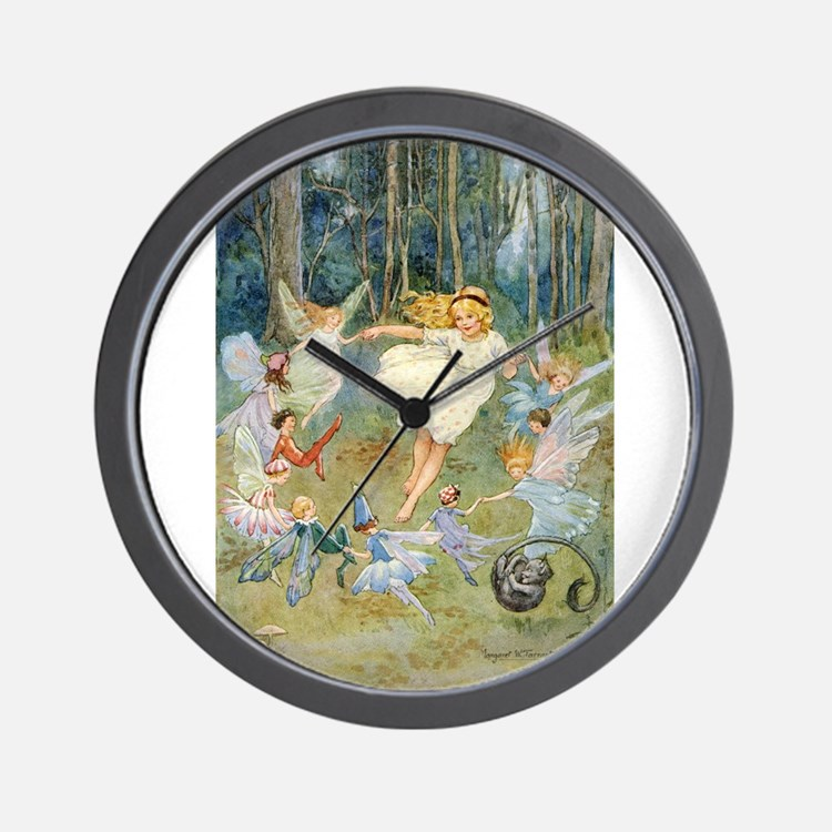 dancing in the fairy Wall Clock