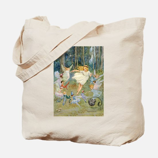 dancing in the fairy Tote Bag