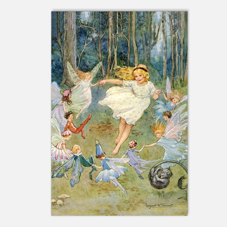dancing in the fairy Postcards (Package of 8)