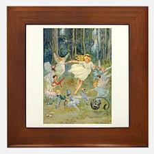 dancing in the fairy Framed Tile