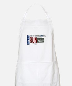Run and not grow weary Apron