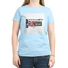 Run and not grow weary T-Shirt