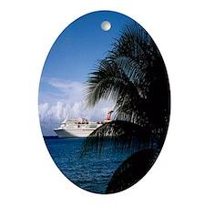 Grand Cayman Oval Ornament