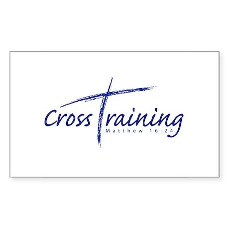 Cross Training Rectangle Sticker