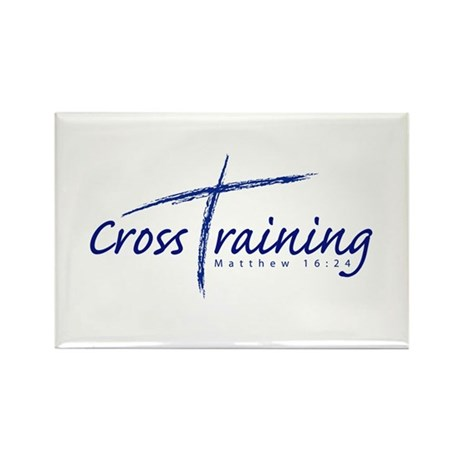 Cross Training Rectangle Magnet