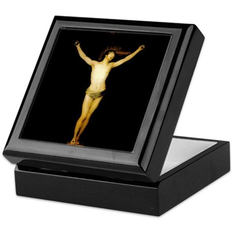 """Crucified Christ"" keepsake box"
