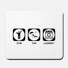 Gym Tan Laundry Mousepad